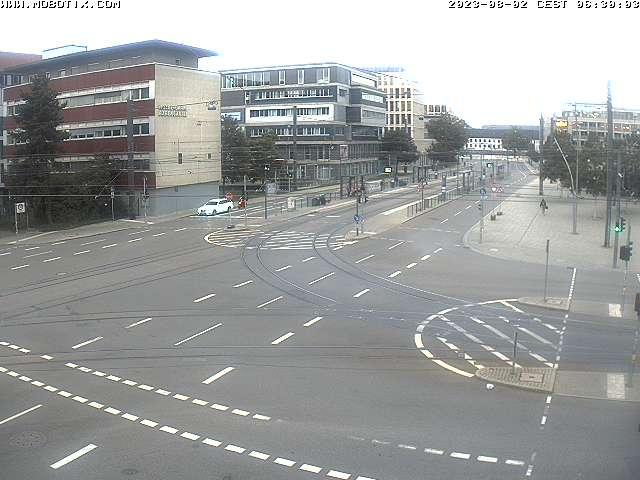 Olgastraße: Kamera vorübergehend außer Betrieb.