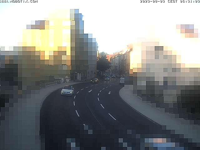 Zinglerstraße: Kamera vorübergehend außer Betrieb.