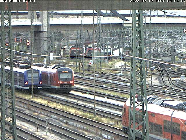 Neubaustrecke Stuttgart 21: Kamera vorübergehend außer Betrieb.